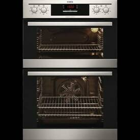 AEG double built in oven new