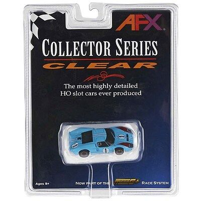 AFX Ford GT40 #1 Miles Collector Series Mega G+ HO Slot Car 21031 Aurora Tomy