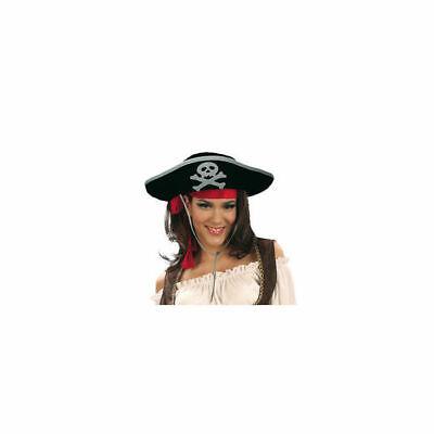 Hut Pirat für Erwachsene, Einheitsgröße Piratenhut
