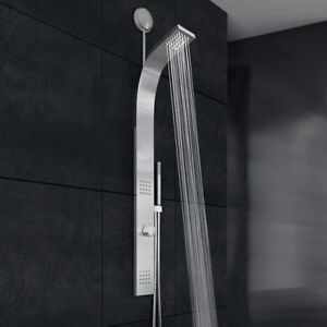 Vigo Leo Retrofit Shower Panel with Rain Shower Head - Rough-In