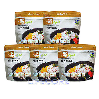 Military Outdoor Camping Emergency Food Combat C Ration MRE Chicken Rice 5 packs