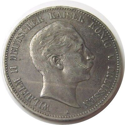 elf Germany Prussia 5 Mark 1903 A  Kaiser