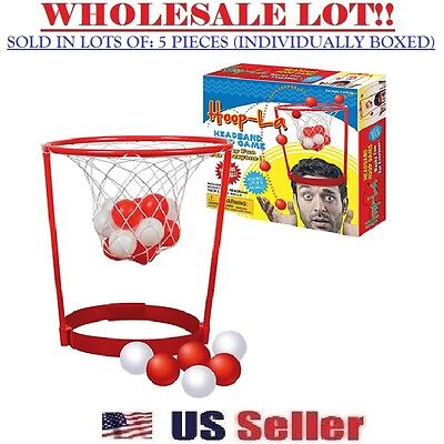 Basket Headband Hoop Game Novelty Joke Drinking Game Toy (BULK LOT OF 5X) (Headband Jokes)