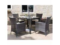 Rattan Designer Outdoor/Patio Garden Furniture Set