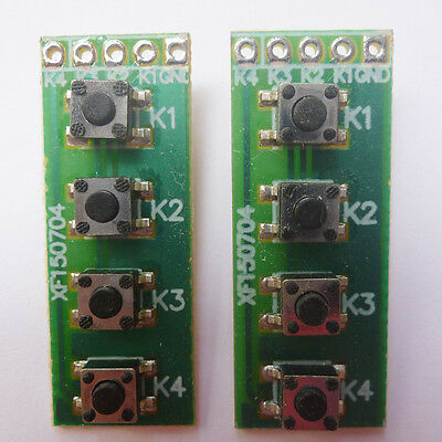 2p Smd Key Switch Keyboard Matrix Board Arduino Uno Mega2560 Raspberry Pcb Plc