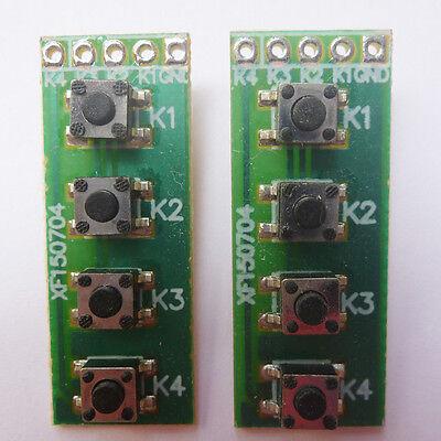 2p Smd Key Switch Keyboard Matrix Board Arduino Uno Mega2560 Raspberry Pcb Plc