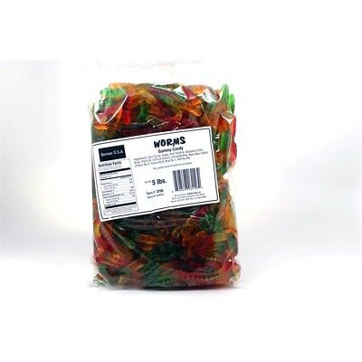 Gummi Worms 5lb Bulk Deal - Gummy Candy