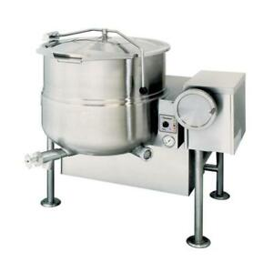 Cleveland KGL-60 Natural Gas 60 Gallon - Steam Jacketed Kettle