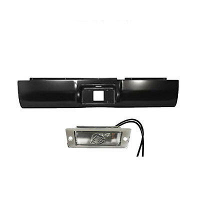 1994 to 2001 Dodge Ram 1500/2500/3500  Rear Steel Rollpan with License Light 2WD