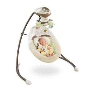 Fisher Price My Little Snugabunny Cradle Swing Baby Swing Infant Soother V0099
