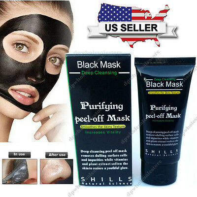 Purifying Black Peel Off Mask Facial Cleansing Blackhead Remover Charcoal Mask