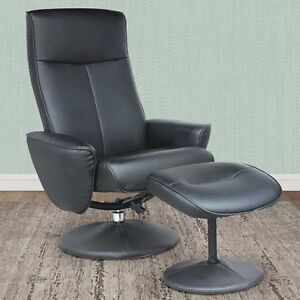SALE! Reclining Lounge Chair w/ Ottoman-2 colours
