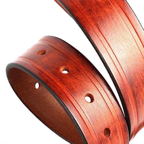 Men's Belts, Full Grain Cow Genuine Leather Casual Dress Jeans Belts For Men