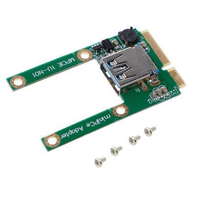 Q15 Mini PCIe PCI-E auf USB 2.0 Adapter Karte Erweiterter USB Stick WIFI Adapter