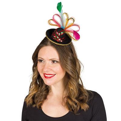 Sombrero mit Haarreif (Mini-sombrero)