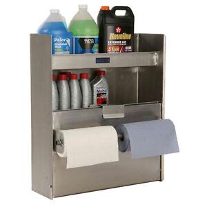 Enclosed Trailer Aluminum Cabinet Gallon Organizer, Toy, Garage, Race Shop, Auto