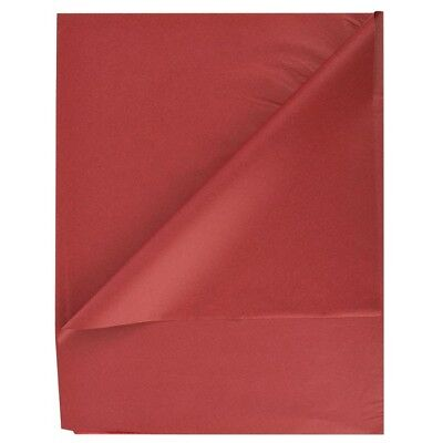 480- Satin Wrap Premium Quality Tissue Wrapping Papers 20x30 Mulberry Red Wine