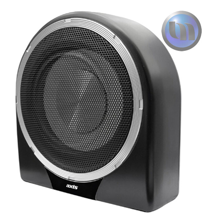 """250 W x 265 H x 118 D mm Amplified Subwoofer 200mm AXIS 8/"""""""