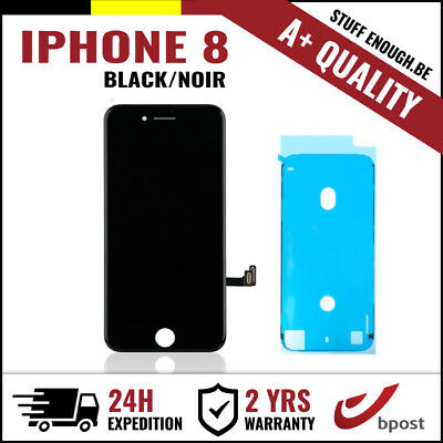 A+ LCD TOUCH SCREEN TACTILE DISPLAY/SCHERM/ÉCRAN BLACK NOIR FOR IPHONE 8+STICKER