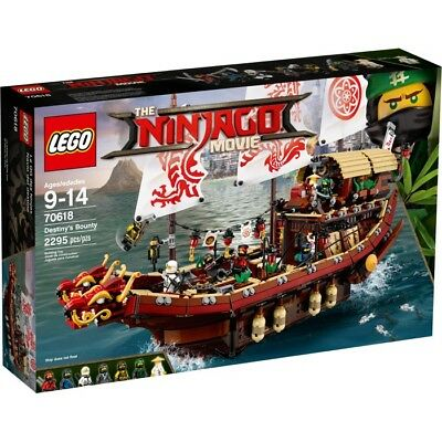 Lego Ninjago Destiny Bounty 70618 New