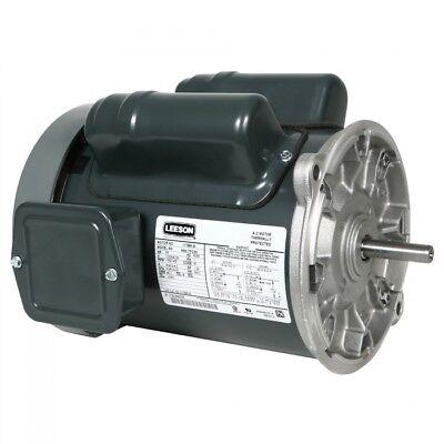 117884.00 Leeson 1.5hp Choretime Feed Auger Motor 1725rpm 115208-230v 56yz