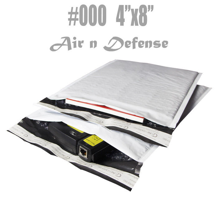 1000 000 4x8 poly bubble padded envelopes