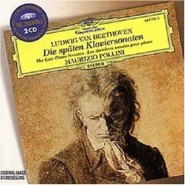 MAURIZIO POLLINI - KLAVIERSONATEN 28-32 2 CD NEU