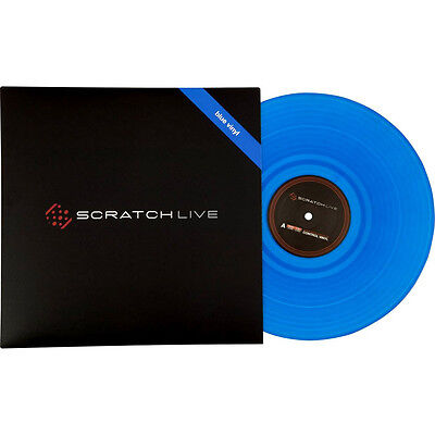 Rane Serato Scratch Live Control Vinyl Blue Record 2.0 New Still Sealed!, used for sale  Shipping to Nigeria