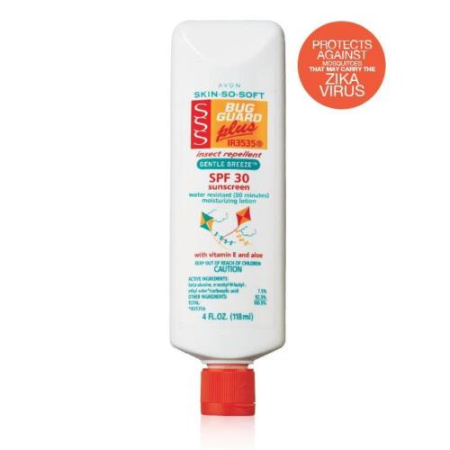 AVON SKIN-SO-SOFT BUG GUARD INSECT REPELLENT GENTLE BREEZE SPF 30 SEALED