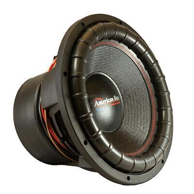 American Bass GF1522 Godfather Dual 2 Ohm Voice Coil, 3000 Watts RMS/6000 Watts, usado comprar usado  Enviando para Brazil