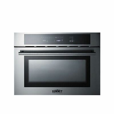 Built-in Speed Oven: microwave, grill and convection oven in