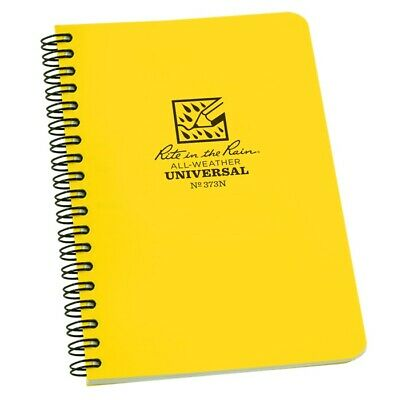 Rite In The Rain 373n All-weather Universal Spiral Notebook Numbered Pages