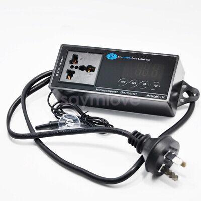 New 110220v Digital Led Temperature Controller Thermostat For Aquarium Reptile
