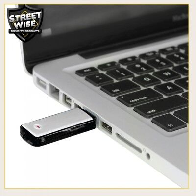 - Covert USB Flash Drive Audio Recorder 8GB Over 80 Hrs Class Lectures, Spy, etc.