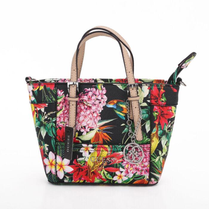 Delaney Floral-Print Mini Tote Handbag With Crossbody Strap 5 ... 9d388848ff714