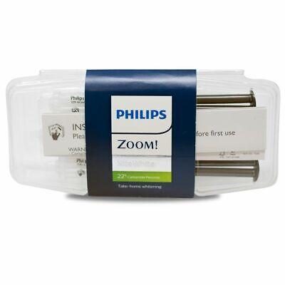Philips Zoom NiteWhite 22% 3 Syringe Pack EXP 08/2021 - FREE US SHIPPING! (Philips Zoom Nite White 22 3 Syringes)