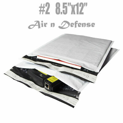 200 2 8.5x12 Poly Bubble Padded Envelopes Mailers Shipping Bags Airndefense