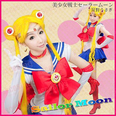 Sailor Moon Halloween Outfit (Sailor Moon Costume Tsukino Usagi Cosplay Costume Anime Costume Halloween)