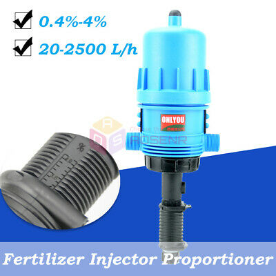 Fertilizer Injector Dispenser Proportioner 4C-30C 0.4%-4% Water-driven Injector