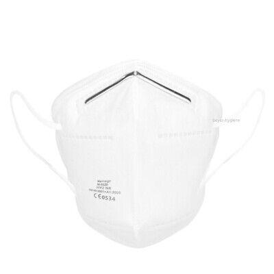6 Atemschutzmasken FFP2 4-lagig Atemschutz FFP 2 Maske Mundschutz