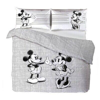 Parure Copripiumino Mickey & Minnie Disney CALEFFI Matrimoniale