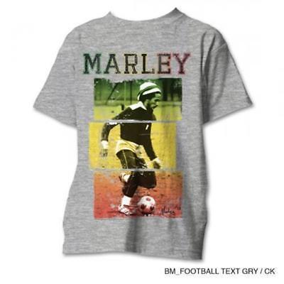 b Marley Rasta Fußball T-Shirt Reggae Kaya (Rasta Fußball)
