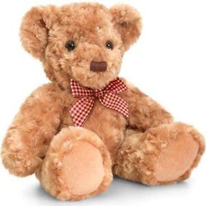 Keel Toys Teddies 20cm Oliver Traditional Brown Teddy Bear Cuddly Soft Toy