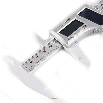 150mm Stainless Steel Lcd Vernier Gauge Digital Caliper Micrometer Carbon Fiber