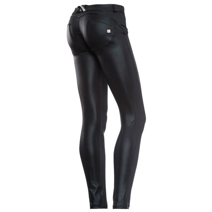 SCONTO 30% FREDDY WR.UP SHAPING VITA BASSA ECOPELLE PANTALONE PUSH UP WRUP1LX01E