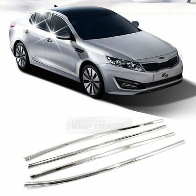 Chrome Window Under Line Sill Trim Molding Garnish for KIA 2011- 2015 Optima (Under Window Trim)