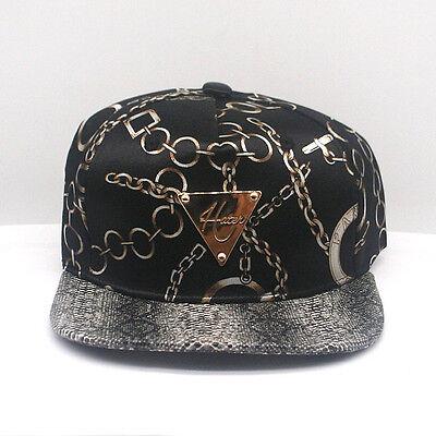 NEW HATER SNAKE SKIN PRINTED ADJUSTABLE SNAPBACK CAP HT012-SC1