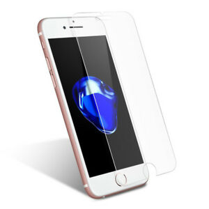 iPhone 5 5C 5S 6 6S 6+ 7 7+ 8 + Tempered Glass Screen Protector