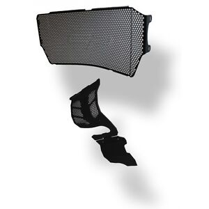Ducati Monster 821 radiator and engine guards