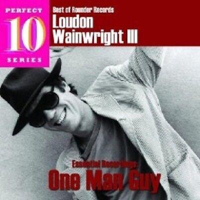 LOUDON III WAINWRIGHT - BEST OF ROUNDER: ONE MAN GUY  CD (Best Loudon Wainwright Albums)